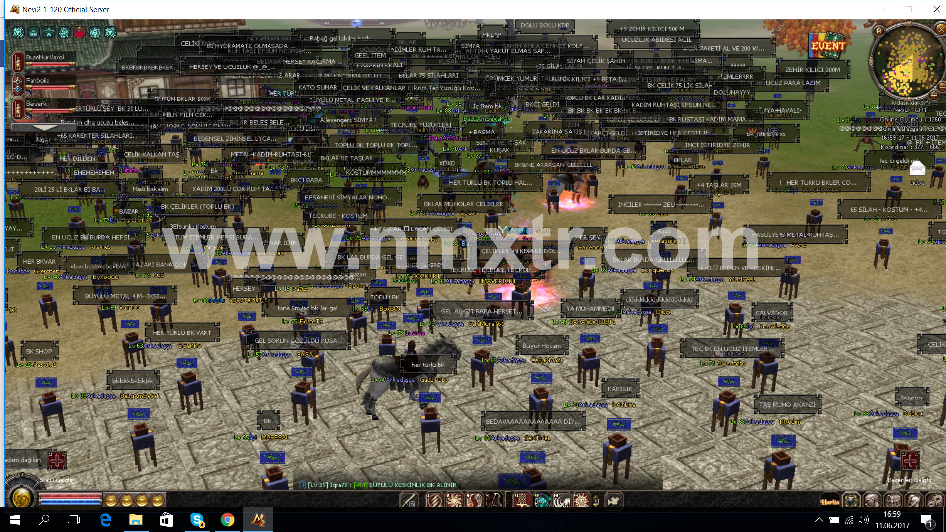 Metin2 TR Tipi Server Files 1-120 (3000 Online Gördü) 2017