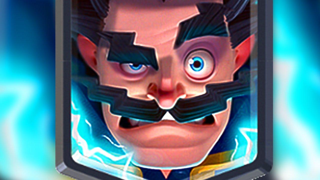 Clash Royale Elektro Büyücü Destesi