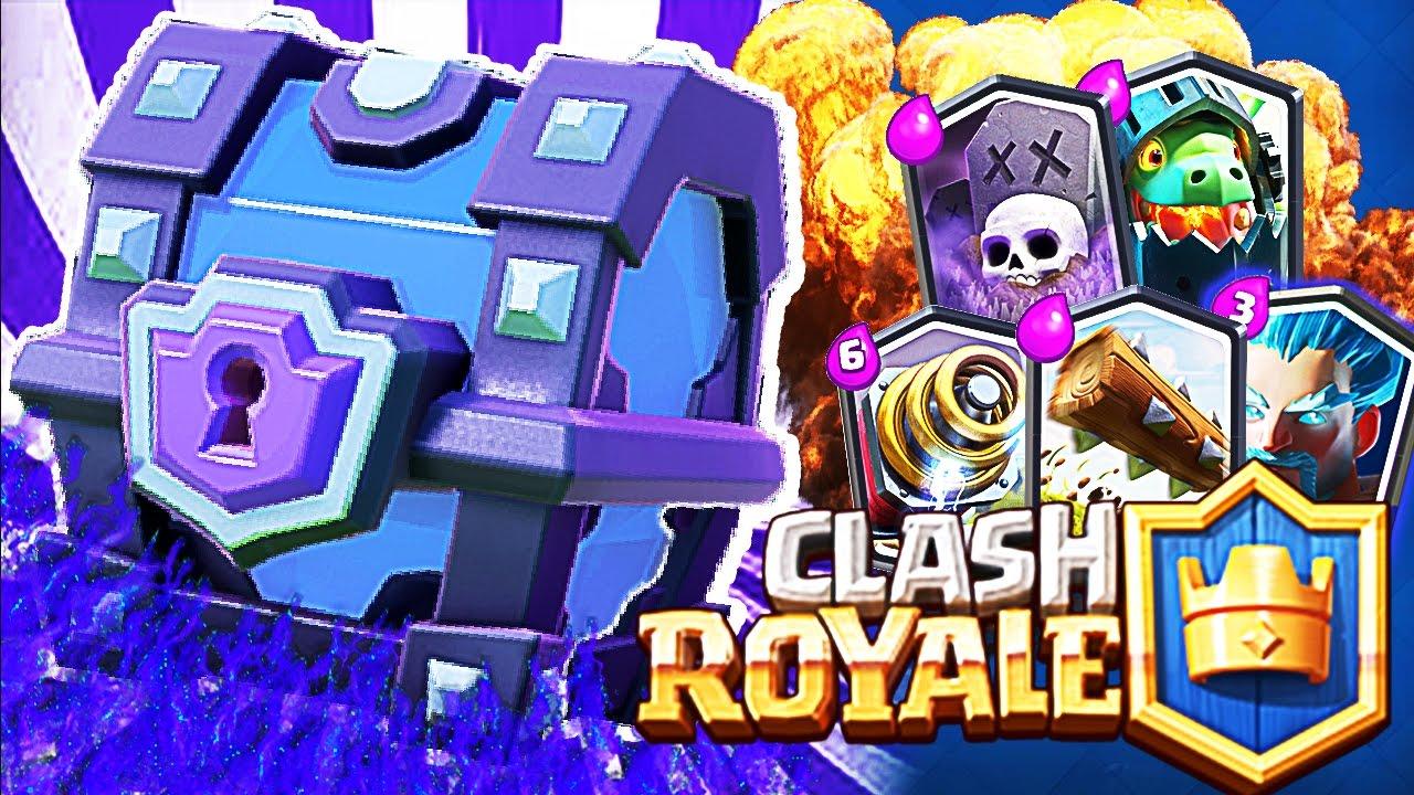 clash royale sandık rotasyonu