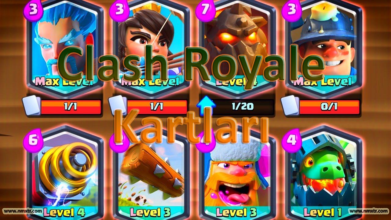 clash royale kartları
