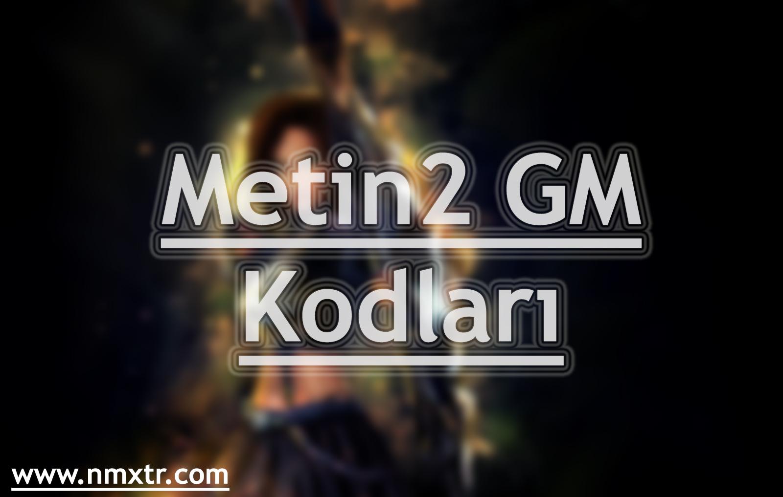 metin2 gm kodları
