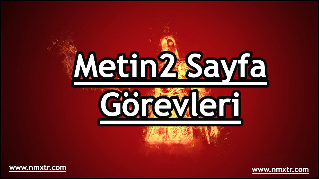 metin2 sayfa görevleri