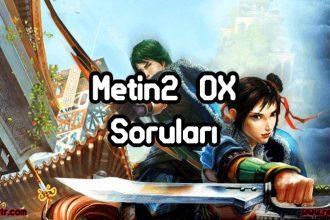 Metin2 Ox Soruları ve Cevapları ( Tamamı )
