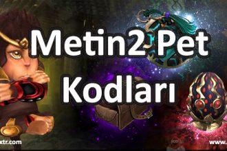 Metin2 Pet Kodları