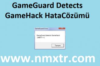 Metin2 GameGuard Hatası Çözümü, Detects GameHack (v6877++)